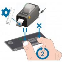 Hướng dẫn thiết lập lại bộ cảm biến máy in mã vạch (calibration/sensor reset)