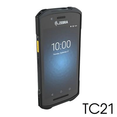 Máy kiểm kho Zebra TC21 (2D, Android, WiFi, Bluetooth, NFC, SIM)