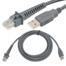 Dây cáp USB máy quét mã vạch RJ-50 10 chân (chính hãng)