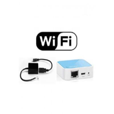 Bộ cấp nguồn và tiếp sóng Wifi