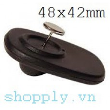 Tem từ cứng RF 48x42mm (gắn quần áo, giỏ xách, giày dép)