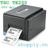 Máy in tem mã vạch TSC TE200 (203 dpi)