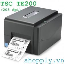 Máy in tem mã vạch TSC TE 200 (203 dpi)