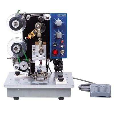 Máy in date bán tự động HP-241B (in ép chuyển nhiệt)