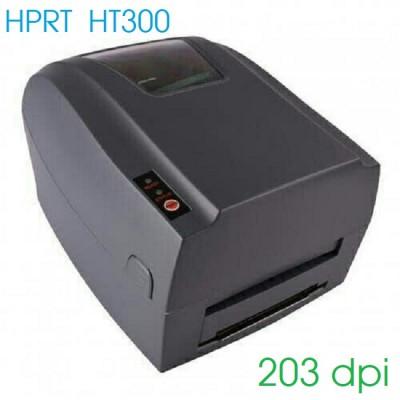 Máy in tem nhãn mã vạch HPRT HT300 (3 cổng giao tiếp USB, RS232, LAN)