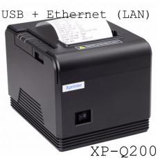 Máy in nhiệt Xprinter XP Q200 (80mm, USB+LAN)
