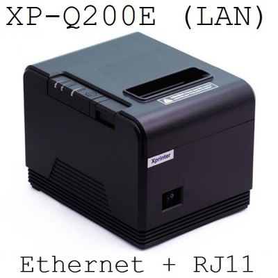 Máy in nhà bếp Xprinter XP-Q200E (khổ 80mm, LAN)