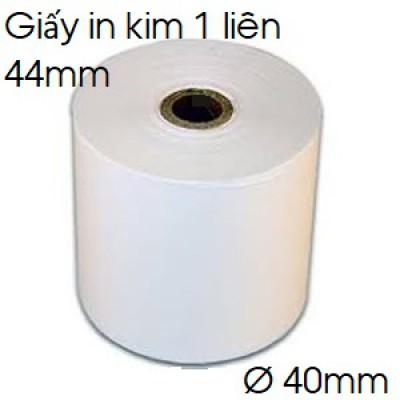 Giấy in kim 01 liên 44mm x 40mm (k44x40)
