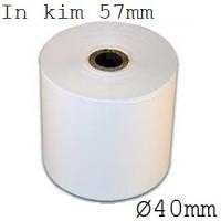 Giấy fort in kim 01 liên 57mm x 40mm