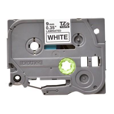 Băng in tem nhãn Brother TZe-221 (9mm x 8m, chữ đen nền trắng)