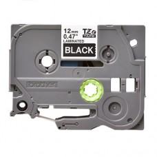 Băng cassette tem nhãn giấy Brother TZe-335 (12mm x 8m, chữ trắng nền đen)