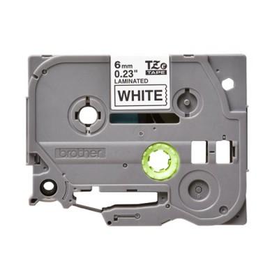 Băng giấy in nhãn Brother TZe-211 (6mm x 8m, đen/trắng)
