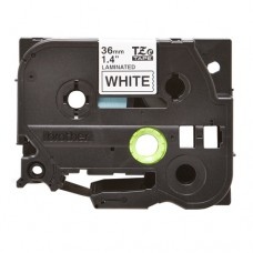 Băng giấy in nhãn Brother TZe-261 (36mm x 8m, đen/trắng)