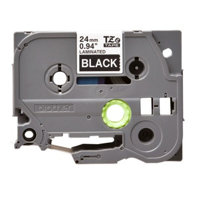 Băng giấy in nhãn Brother TZe-355 (24mm x 8m, trắng/đen)