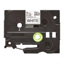 Băng giấy in nhãn Brother TZe-FX221 (9mm x 8m, đen/trắng)