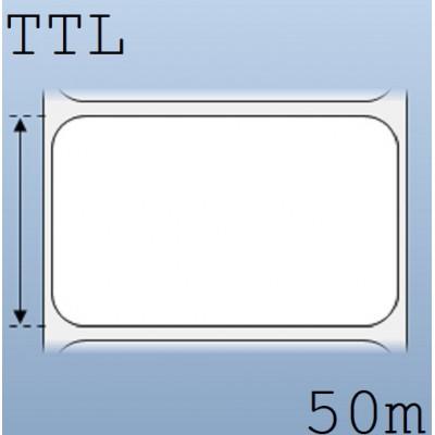 Giấy decal in tem nhãn mã vạch 1 tem 65x40mm, 50m