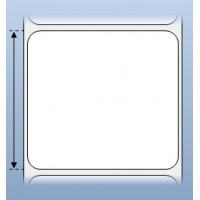 Giấy decal CẢM NHIỆT 1 tem 70x65mm, 30m (in tem nhãn mã vạch)