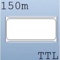 Cuộn tem nhãn giấy in chuyển nhiệt 1 tem 90x40mm, 150m
