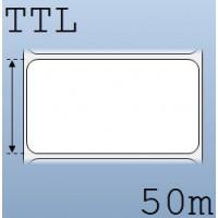 Cuộn tem nhãn giấy in chuyển nhiệt 1 tem 90x50mm, 50m