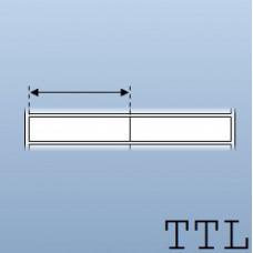 Giấy decal chuyển nhiệt in tem nhãn mã vạch 2 tem 40x10mm, 50m