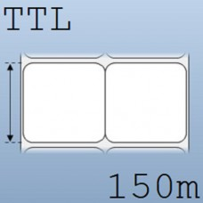 Giấy decal in tem nhãn mã vạch 2 tem 50x50mm, 150m
