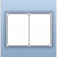 """Tem nhãn giấy in chuyển nhiệt 2 tem 50x75mm (2""""x3""""), 150m"""