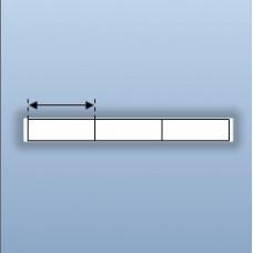 Decal nhựa PVC 3 tem 30x10mm, 50m