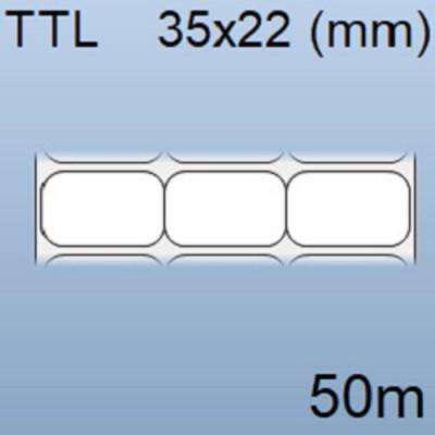 Tem nhãn giấy in mã vạch 03 tem 35x22mm, 50m