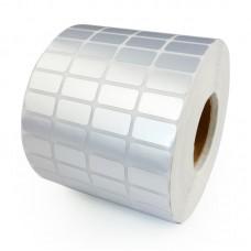 Decal xi bạc 04 tem 25x15mm, khổ 110mm, dài 50m