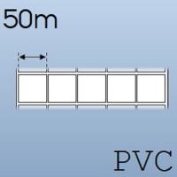 Cuộn tem nhãn nhựa PVC 5 tem 20x20mm, 50m