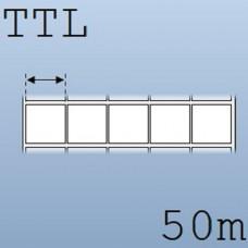 Cuộn tem nhãn giấy in chuyển nhiệt 5 tem 20x20mm, 50m