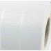 Giấy decal in mã vạch 04 tem 25x15mm, khổ 105mm, dài 50m