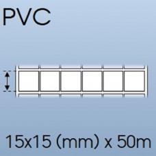 Cuộn tem nhãn giấy in chuyển nhiệt 06 tem 15x15mm, 50m