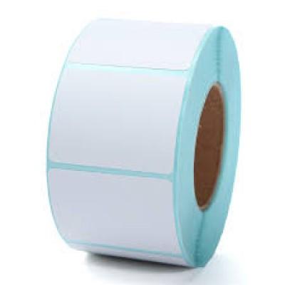 Giấy decal cảm nhiệt 2 tem 40x25mm, dài 50m (3.571 tem/cuộn)
