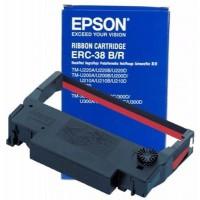 Băng mực ERC 38B/R (black/red) cho máy in kim Epson