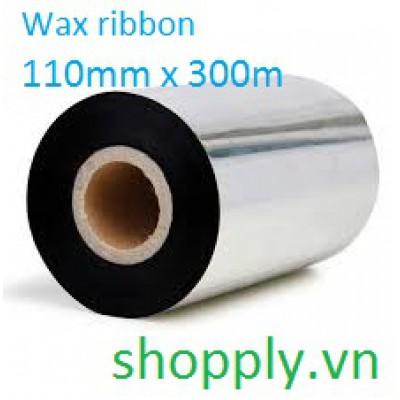 Mực in mã vạch wax premium FI 110mm x 300m