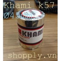 Giấy in nhiệt Khami k57 đường kính Ø 45mm